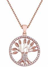 Roberto Bottega Gümüş Hayat Ağacı Kolye Ask0036