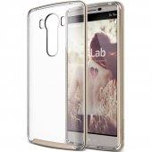 Verus Lg V10 Case Crystal Bumper Kılıf Shine Gold