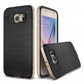 Verus Galaxy S6 Case Iron Shield Kılıf Gold