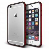Verus İphone 6 Plus 6s Plus Iron Bumper Kılıf Black Kiss Red