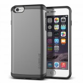 Verus İphone 6 Plus 6s Plus Damda Veil Kılıf Steel Silver