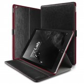 Verus İpad Pro Case Dandy Layered Series Kılıf Black Wine