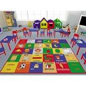 Confetti 133x190 Cm Anaokulu & Çocuk Odası Oyun Halı Study Time
