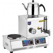 Remta 15 Model Tek Demlikli Elektrik Çay Kazanı