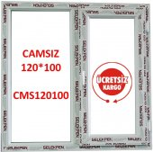 120x100 Pencere Camsız