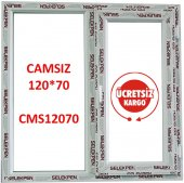 120x70 Pencere Camsız