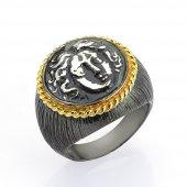 Gümüş Para Yüzük Romin 11