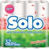 Solo Tuvalet Kağıdı 32 Rulo Parfümlü