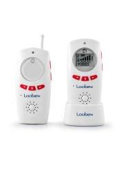 Loobex Titreşimli Dijital Bebek Dinleme Telsizi (Kırmızı)