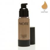 Note Detox Protect Fondöten Spf15 Dark Honey 06 35ml