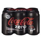 Coca Cola Zero 6x330 Ml