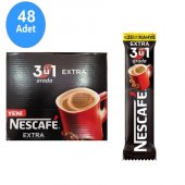 Nescafe 3 Ü 1 Arada Extra 17gr X 48 Adet Ücretsiz Kargo
