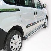 Spider Fiat Doblo2(2010) Krom Sürgülü Kapı Çıtas I...