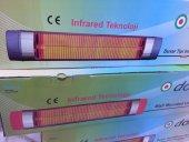 Dodici Duvar Tipi 2600 W Infrared Quartz Isıtıcı Soba Ufo Tipi