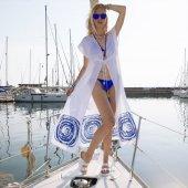 Biggdesign Uzun Plaj Elbisesi Standart By Canan Berber