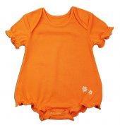 Kısa Kollu Body Oranj