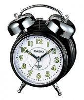Casio Tq 362 Alarmlı Işıklı Fosforlu Masa Saati