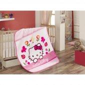 Hello Kitty Lisanslı Bebek Battaniye Fancy