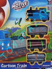 Thomas Tren Tomas Pilli Raylı Tren Oyuncak Lokomotif