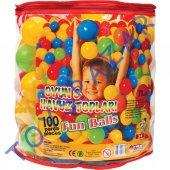 Oyun Havuzu Topları Top Havuzu Plastik Renkli Toplar Bebek Havuz