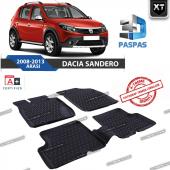 Dacia Sandero 2008 2013 Arası Xt 3d Havuzlu Paspas