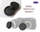 Nikon 18 55mm Lens Arka Kapağı Nikon Body Ön Kapağı