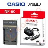 Casio Exilim Zoom Ex Z85gn Şarj Cihazı Şarj Aleti