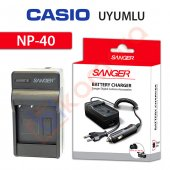 Casio Exilim Zoom Ex Z55 Şarj Cihazı Şarj Aleti