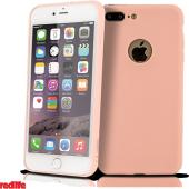 Redlife İphone 7 Kılıf Silikon Kılıf Pembe Mat