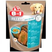 8in1 Fillets Pro Dental Tavuklu Köpek Ödül Maması 80 Gr