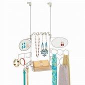 Mücevher,kemer,eşarp Ve Çanta Düzenleyici Kapı Üstü Asılabilir Düzenleyici Askı