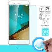 Microsonic Vodafone Smart Style 7 Nano Cam Ekran Koruyucu Kırılmaz Film
