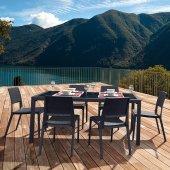 Siesta Contract Veroniti Masa Takımı Balkon Bahçe Mobilyası