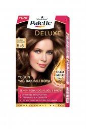 Palette Deluxe Kit Saç Boyası 5 5 Işıltılı Çikolata