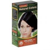 Organic Natural Colors Bitkisel Kalıcı Saç Boyası 1n Siyah