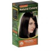 Organıc Natural Colors Saç Boyası 3n Koyu Kahve ...