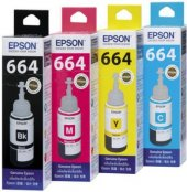 Epson L100 , L200 , L210 , L220, L355 , L365 , L550 Mürekkep Set