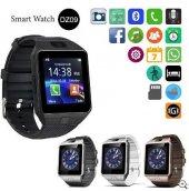 Kameralı Akıllı Saat Smart Watch Gold