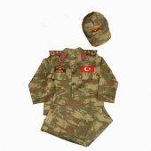Erkek Çocuk Asker Komando Kıyafeti Kostüm
