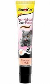 Gimcat Tüy Yumağı Önleyici Tavuklu Kedi Ödül Macunu 50 Gr
