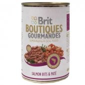 Brit Bountiques Gourmandes Somonlu Konserve Köpek Maması 400 Gr