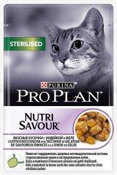 Pro Plan Steril Hindili Kısırlaştırılmış Pouch Kedi Konservesi 85
