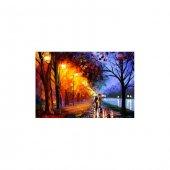 Romantic Date 2 Parça Kanvas Tablo 60x40 Cm