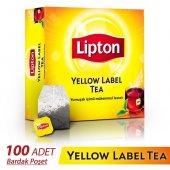 Lipton Yellow Label Bardak Poşet Çay 100 Adet 200 Gr