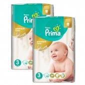 Prima Premium Care No 3 Bebek Bezi 2 Li Jumbo Paket 136 Adet