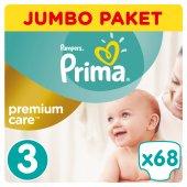 Prima Premium Care No 3 Midi 68 Adet Mega Paket Bebek Bezi