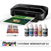 Canon Ix6850 (A3 Yazıcı) Ve Kolay Dolan Kartuş Sistemi (1 Sayfa Renkli Baskı 0,01 Tl)
