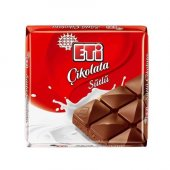 Eti Sütlü Çikolata Tablet 75 Gr