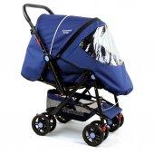 Diamond Baby P 101 Bebek Arabası Çift Yönlü Bebek Arabası 6 Renk Yağmurluk Ayak Örtüsü Dahil