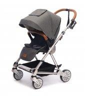 Norfolk Baby Prelude Special Edition Air Luxury Çift Yönlü Bebek Arabası Gri
